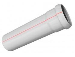 Труба РР Ø 50 * 1,8 * 0,5 м         (25шт/уп)        Метак