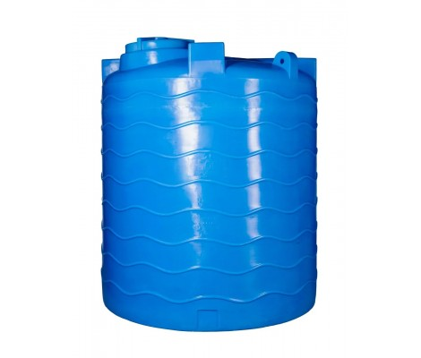Ёмкость     4500л   вертикальная Синяя  (в208-д170)