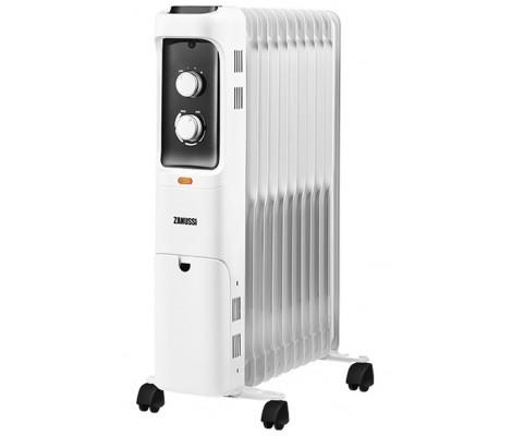 Радиатор масляный 9 секций 2 кВт Loft ZOH/LT-09W 2000 W ZANUSSI
