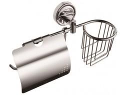 Бумагодержатель для туалетной бумаги с дезодорантом F3603-1 FRAP