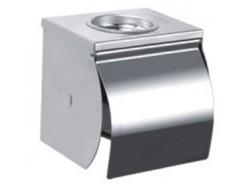Бумагодержатель для туалетной бумаги с пепельницей хром F502 FRAP