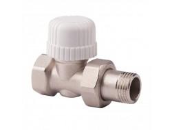 Кран  под термоголовку   прямой 1/2  ICMA 775    (50 шт)