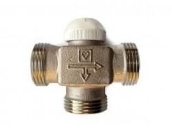 """Клапан 3-х ходовой термостатический CALIS-TS 1"""" HERZ"""