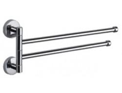 Полотенцедержатель двойной поворотный      F112          FRAP