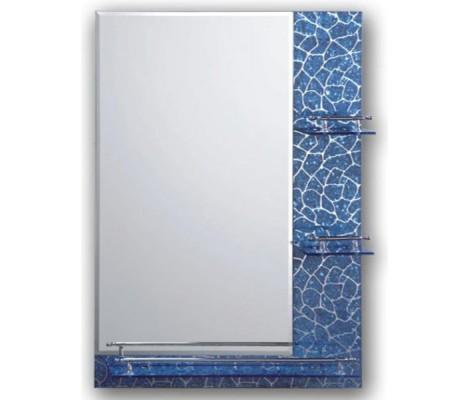 Зеркало с полками для ванной комнаты  рисунок F657 FRAP