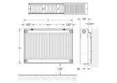 Радиатор стальной K-Profil 300/22/1400 Buderus