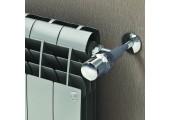 Биметаллический радиатор 500 new BiLiner Silver Satin 95000 Royal Thermo