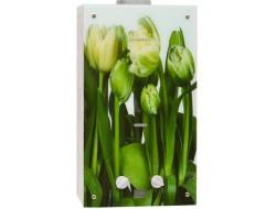 Колонка газовая Декор-еко 210.01 тюльпаны 10л (340x590x150 мм) Genberg