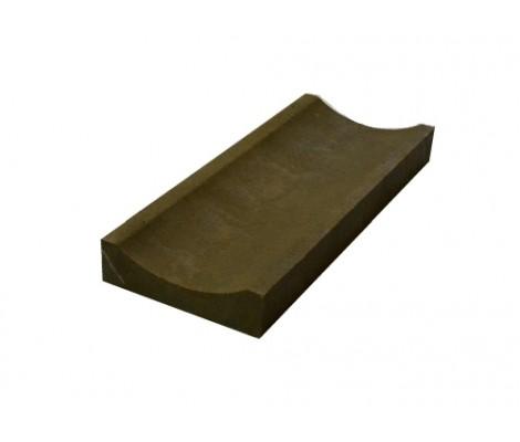 Лоток полимерный мелкосидящий коричневый