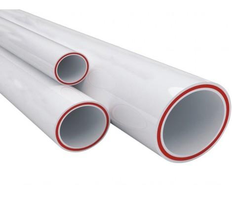 Труба полипропиленовая армированная стекловолокном белая 32*5,4 SDR 6 PN25 Метак