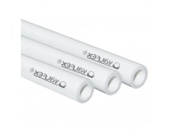 Труба с металлом SDR 6 PN25 20*3,4   (140)  (VALFEX)  белая