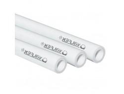 Труба с металлом SDR 6 PN25 25*4,2   (100)  (VALFEX)  белая
