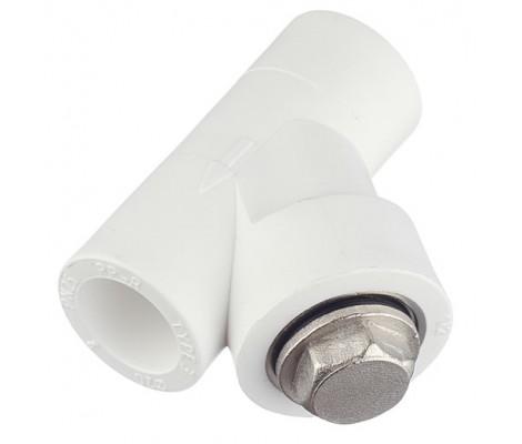 Фильтр грубой очистки полипропиленовый белый 20 Россия
