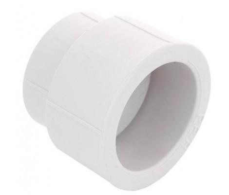 Муфта полипропиленовая переходная белая 32*20 HEISSKRAFT