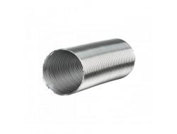 Гофра алюминиевая для газовых колонок d100 L- 3 м