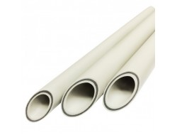 Труба ASG Nano Ag с металлом 20 * 3,2  Белая Koer