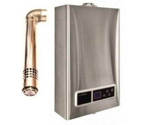 Колонка газовая Аристон MARCO POLO G17S 11L FFI (турбо+труба)