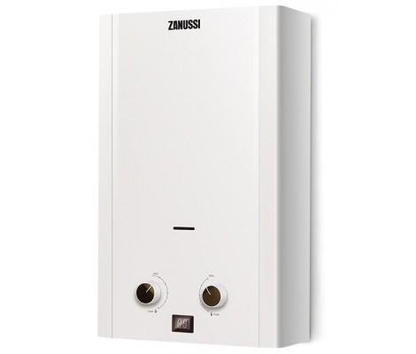 Колонка газовая белая 20 кВт GWH 10 Fonte Glass Zanussi