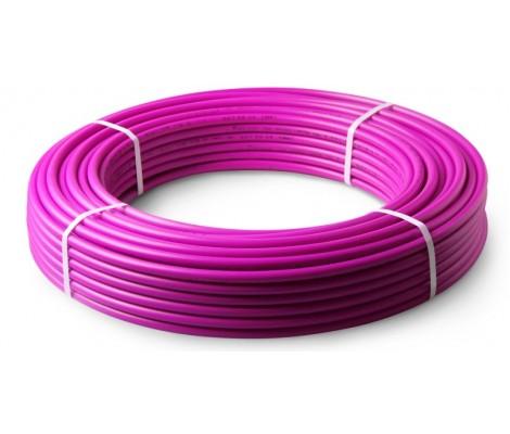 Труба сшитый полиэтилен 16 Pink- PertPipe Германия 200 м HEISSKRAFT
