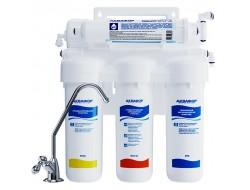 Водоочиститель ОСМО-050-5-ПН с помпой и блоком питания Аквафор