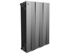 Биметаллический радиатор 500 PianoForte Silver Satin 94996 Royal Thermo