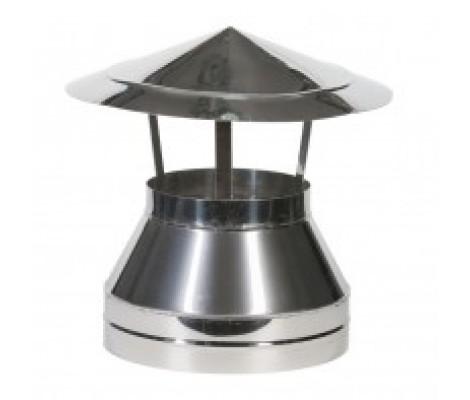 Зонт на трубу оцинкованный Ø115 , Ø 200 2Z