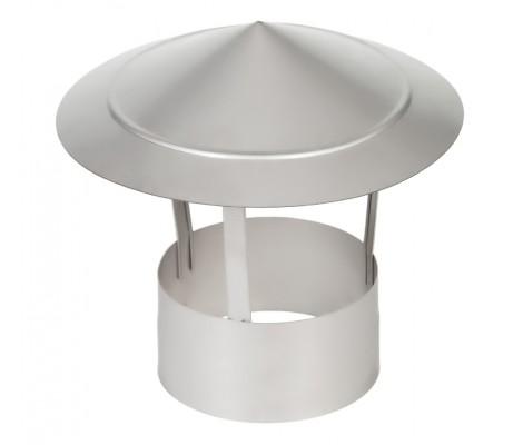 Зонт на трубу оцинкованный Ø 115 1Z