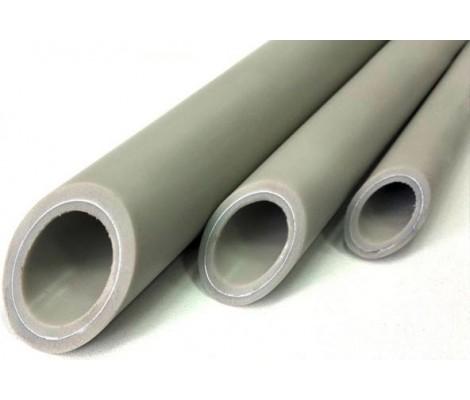 Труба с металлом    50   PP-R   (РОССИЯ) (Valfex)                         (24 м)