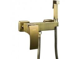 Встраиваемый гигиенический душ бронза G2007-4 Gappo