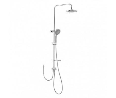 Душевая система (смеситель без гусака, верхний душ, ручная лейка) F2405 Frap