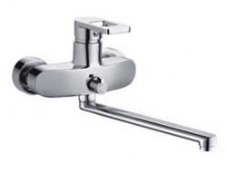 Смеситель для ванны хром       F2272      (ф35, длинный гусак 35 см, евро перекл.)  FRAP
