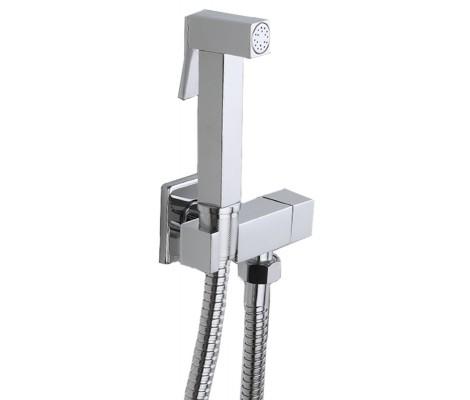 Гигиенический душ со смесителем хром F7502 Frap