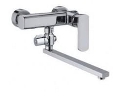 Смеситель для ванны хром       F2164     (ф35, длинный гусак 30 см, перекл. на гусаке)  FRAP