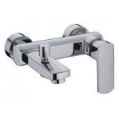 Смеситель для ванны хром (Ø35, короткий гусак c переключателем) F3064 Frap