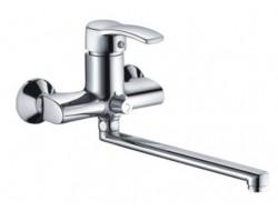 Смеситель для ванны хром       F2270     (ф40, длинный гусак 30 см, евро перекл.)  FRAP