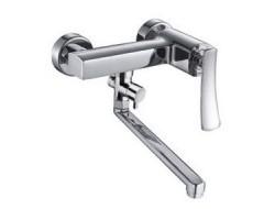Смеситель для ванны хром       F2280      (ф35, длинный гусак 30 см, перекл. на гусаке)  FRAP