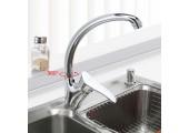 Смеситель для кухни хром (Ø40, высокий гусак, на гайке) F4101-2 Frap