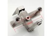 Душевая система (смеситель с гусаком, верхний душ, ручная лейка) F2421 Frap