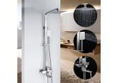 Душевая система с гусаком, верхний душ, ручная лейка F2421 FRAP