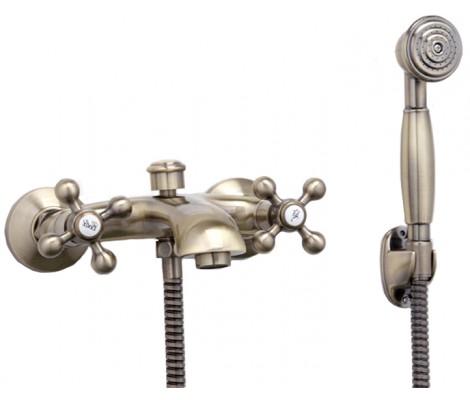 Смеситель для ванны бронза F3019-4 FRAP