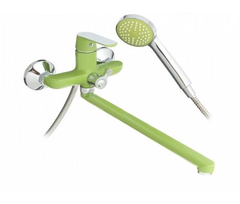 Смеситель для ванны зеленый F2233 FRAP