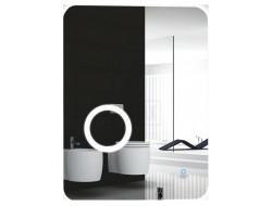 Зеркало для ванной комнаты с подсветкой 60*80     G602