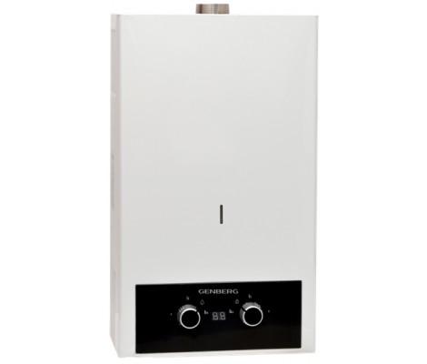 Колонка газовая Турбо 410.01 белая 10л (340x590x180 мм) Genberg