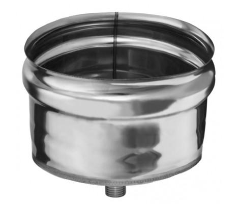 Конденсатоотвод для трубы (430/0,5 мм) Ф100 (внешняя) Ferrum