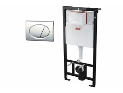 Инсталяционная система для унитаза  ALCAPLAST AM101/1120+M71
