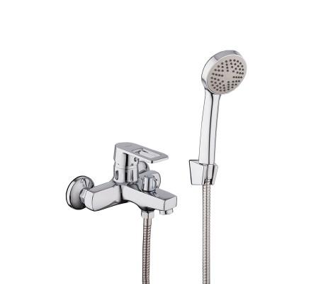 Смеситель для ванны хром (Ø40, короткий гусак, европереключатель) R32072 Frud