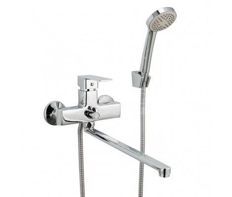 Смеситель для ванны хром (Ø35, длинный гусак, европереключатель) R22131 Frud