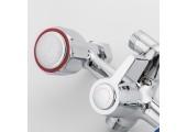 Смеситель для ванны хром (длинный гусак, европереключатель) R22109 Frud