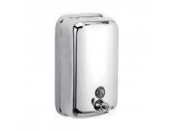 ZERIX LR402  Дозатор жидкого мыла настенный (металл, хром) 800 мл