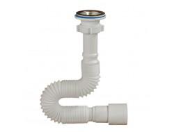 А-3016  ОРИО гофросифон для умывальника с выпуском 1 1/4 * 40/50, длина 750 мм   (90 шт)